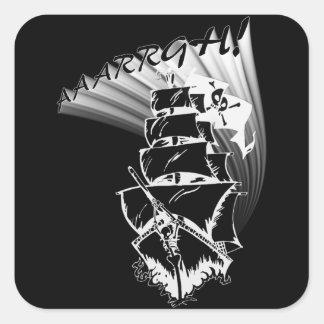 AAAARGH! It be a Pirate Ship! Sticker