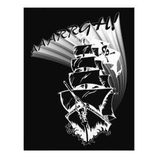 ¡AAAARGH ¡Sea un barco pirata