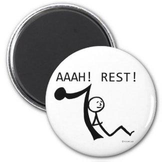 Aaah Rest! Magnet