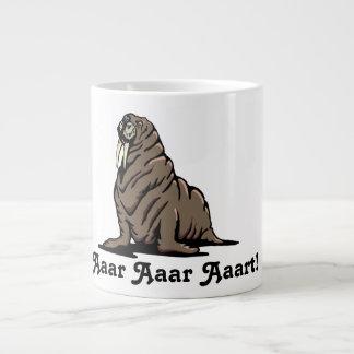 aaar Aaar Aaart!  Walrus Mug! Giant Coffee Mug