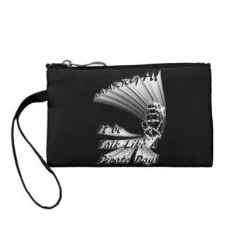 AAARGH! It Be Talk Like a Pirate Day! Coin Wallet