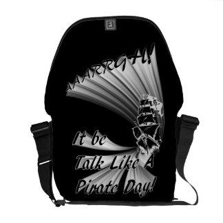 AAARGH! It Be Talk Like a Pirate Day! Commuter Bag