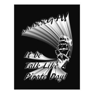 ¡AAARGH ¡Sea charla como un día del pirata