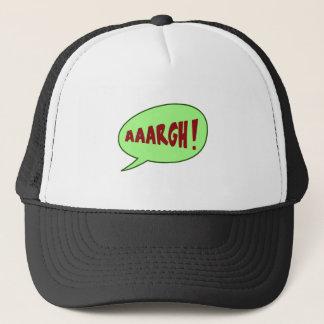 Aaargh Talking Bubble Trucker Hat