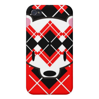 Aaargyle RB kuma speckcase Cover For iPhone 4