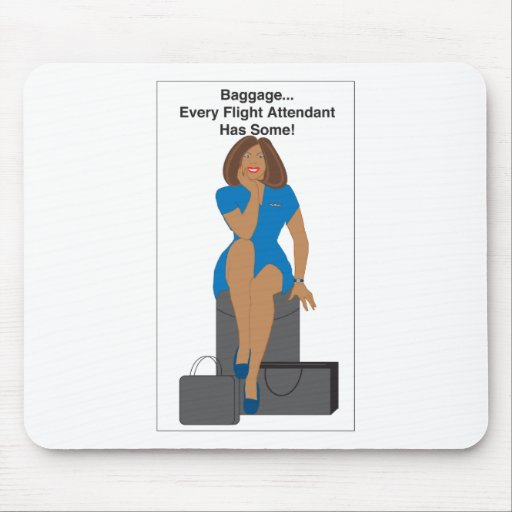 AABagWoman Mouse Pad