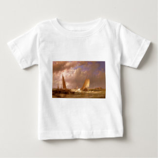 AAbraham Hulk Dutch Barges At The Mouth Of An Estu Baby T-Shirt