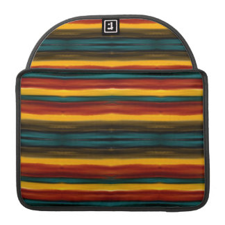 Aabstract Stiped Art Sleeve For MacBooks