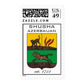 AAC Postage: Shusha, Azerbaijan Postage