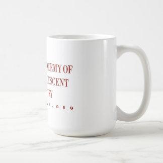 AACAP 18 oz Coffee Mug - Classic Burgundy Logo