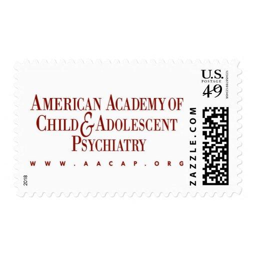 AACAP 46 Cent Stamp - Classic Burgundy Logo