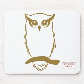 AACAP Life Member Owl Logo 2 Mouspad Mouse Pad