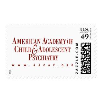 AACAP sello de 46 centavos - logotipo clásico de