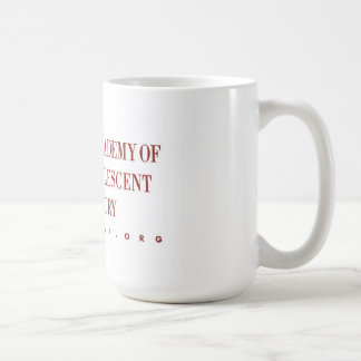 AACAP taza de café de 18 onzas - logotipo clásico