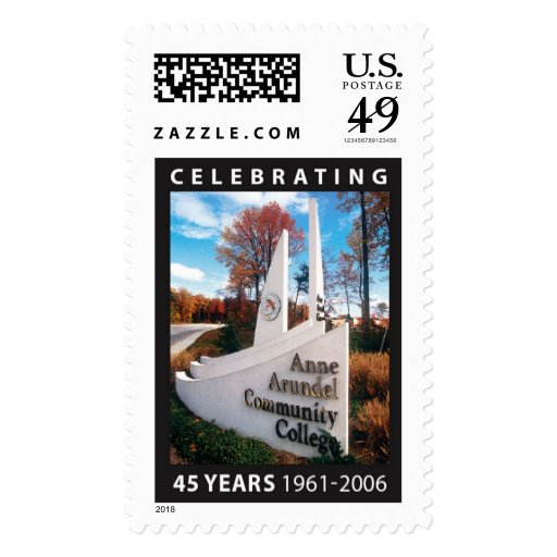 AACC_WestCampus Postage Stamps