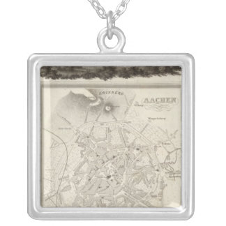 Aachen, Germany Silver Plated Necklace
