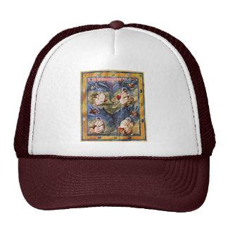 Aachen Gospels, Folio 13R By Karolingischer Buchma Trucker Hat