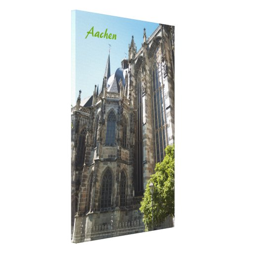 Aachen Wrapped Canvas Canvas Print