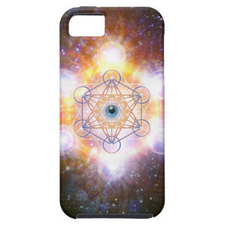 """Aad Guray Nameh""-Protective Mantra-Merkaba iPhone 5 Case"