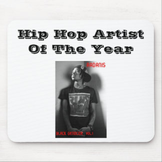 AADANIS:HIP HOP ARTIST OF THE YEAR MOUSE PAD