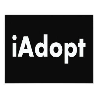 aAdopt Invitación 10,8 X 13,9 Cm