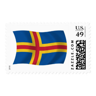 Aaland Flag Stamps