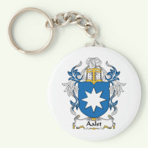 Aalst Family Crest Keychain