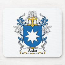 Aalst Family Crest Mousepad