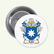 Aalst Family Crest Button