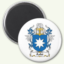 Aalst Family Crest Magnet