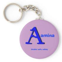 Aamina Keychain