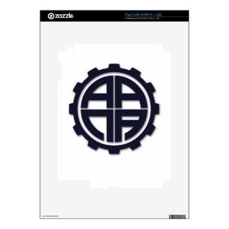 AANA GEAR SKIN FOR iPad 2