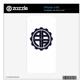 AANA GEAR DECAL FOR THE iPhone 4