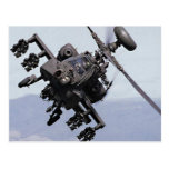 Aapache Attack Helicopter Postcard