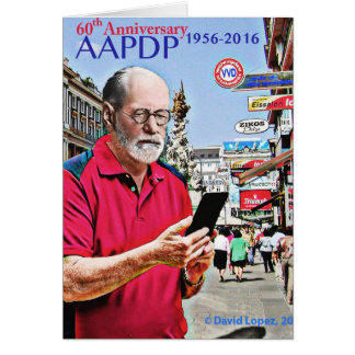 AAPDP 60th Anniversary Greeting Card