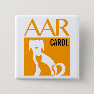 "AAR Logo Button w/ Customizable Name, 2""sq."