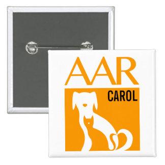"AAR Logo Button w/ Customizable Name, 2""sq."