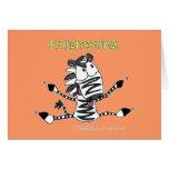 Aaran the Zebra Enlightening Cards