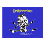 Aaran the Zebra Enlightening Postcard