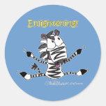 Aaran the Zebra Enlightening Stickers