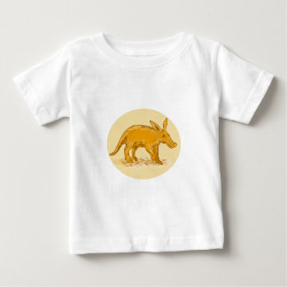 Aardvark African Ant Bear Drawing Baby T-Shirt