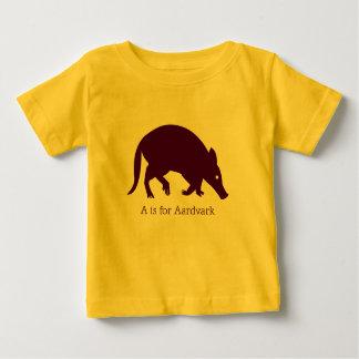 Aardvark Animal Alphabet T Shirts