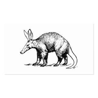 Aardvark Business Card