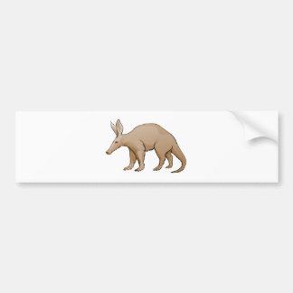 Aardvark Car Bumper Sticker