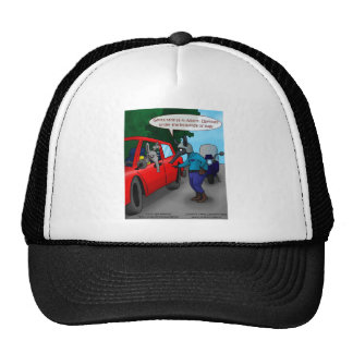 Aardvark Driving While Bugged Funny Tees Mugs Gift Trucker Hat