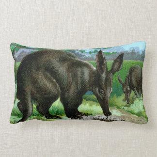 Aardvark Eating Ants Lumbar Pillow