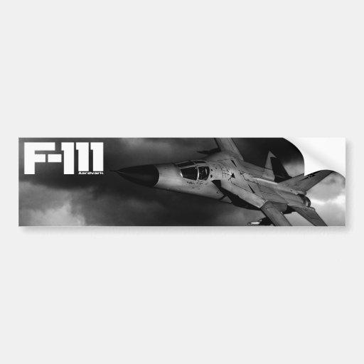 Aardvark F-111 Pegatina Para Auto