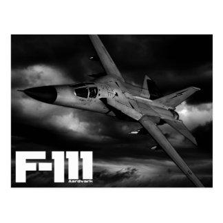 Aardvark F-111 Tarjeta Postal