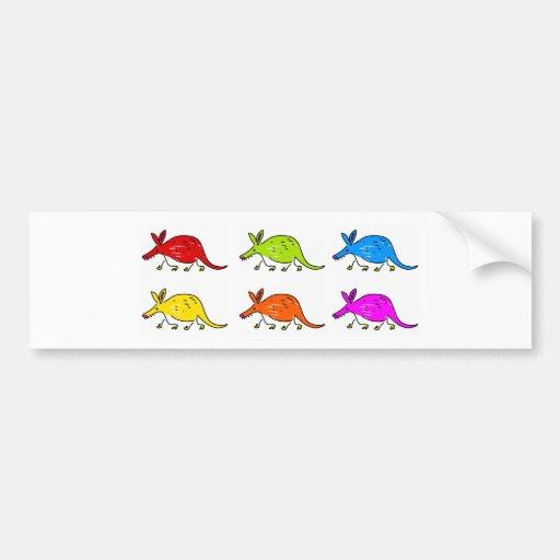 Aardvarks Bumper Sticker