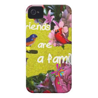 Aare de los amigos una familia funda para iPhone 4